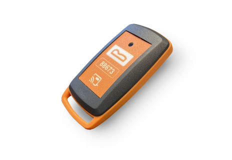 Keyless Go card with security mode button